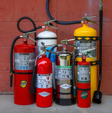 Fire Extinguisher Inspection Burnaby